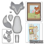 Ножи от Spellbinders - Forest Fox - Лиса - ScrapUA.com