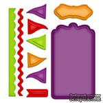 Лезвия Spellbinders - Tags and Flags, 10 шт.
