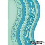 Лезвие Spellbinders -  Borderabilities - A2 Curved Borders One, 6 шт. - ScrapUA.com