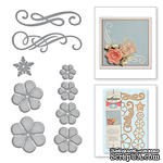 Ножи от Spellbinders - Cinch and Go Flowers - ScrapUA.com
