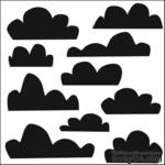Маска The Crafter's Workshop - Mini Template Clouds, 15х15 см - ScrapUA.com