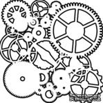 Маска The Crafter's Workshop - Mini Template Gears, 15х15 см - ScrapUA.com