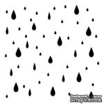 Маска The Crafter's Workshop - Mini Template Raindrops, 15х15 см - ScrapUA.com