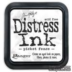 Штемпельная подушка Ranger - Distress Ink Pad - Picket Fence (белые) - ScrapUA.com