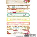 Набор наклеек Webster's Pages - Strawberry Fields - Sentiment Stickers - ScrapUA.com