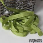 Лента Seam Binding Moss Green , ширина 14мм, длина 90см - ScrapUA.com