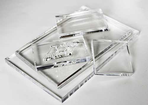 Акриловый блок для креплени силиконовых штампов