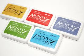 Archival ink - Архивные чернила