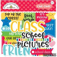 Высечки от Doodlebug - Odds & Ends Chit Chat Die-Cuts - School Days, 111 шт.