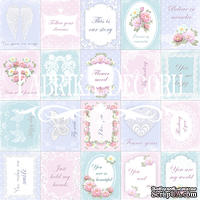 Набор картинок для декорирования Фабрика Декора - Карточки Shabby dreams - свадьба (англ.)