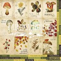 Карточки Botany autumn (англ.), ТМ Фабрика Декору