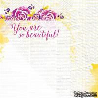 Лист бумаги для скрапбукинга от Lemon Owl - Plans for Today, Be You, 30x30