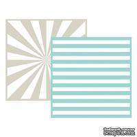 Набор папок для тиснения Lifestyle Crafts - QuicKutz - Stripe, 2 штуки