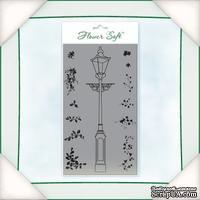 Заготовка от Flower Soft - Stamp - The Lampost. Размер в см.: 3,5х16.
