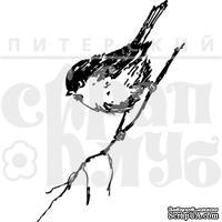 """Акриловые штампы дизайна Елены Виноградовой """"Птичка на веточке"""""""