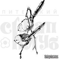 """Акриловые штампы дизайна Елены Виноградовой """"Две птички на ветке"""""""