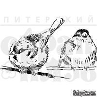 """Акриловые штампы дизайна Елены Виноградовой """"Две пичужки"""""""