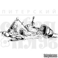 """Акриловый штамп """"Песочный городок"""""""