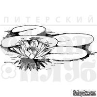 """Акриловый штамп """"Кувшинки"""""""