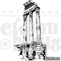 """Акриловый штамп """"Три колонны"""""""