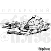 """Акриловый штамп """"Мужская шляпа"""""""