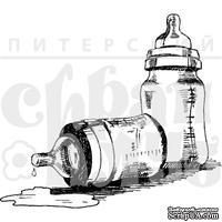 """Акриловые штампы дизайна Елены Виноградовой """"Две бутылочки"""""""
