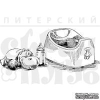 """Акриловые штампы дизайна Елены Виноградовой """"Натюрморт с горшком"""""""