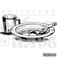 """Акриловые штампы дизайна Елены Виноградовой """"Посуда"""""""