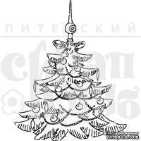 Штамп от Питерского скрапклуба - Новогодняя Елка