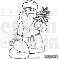 Штамп от Питерского скрапклуба - Дед Мороз