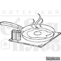 Штамп от Питерского скрапклуба - Яишенка