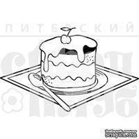 Штамп от Питерского скрапклуба - Пирожное С Вишенкой