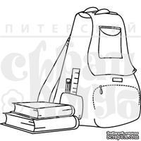 Штамп от Питерского скрапклуба - Рюкзачок