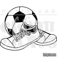 Штамп от Питерского скрапклуба - Футбол Подождет