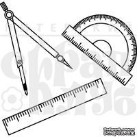 Штамп от Питерского скрапклуба - Геометрия