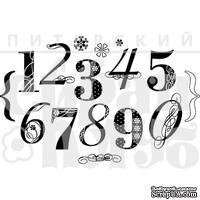 Штамп от Питерского Скрапклуба - Набор Цифр