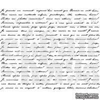 """Акриловый штамп """"Французский текст"""""""