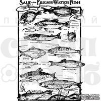 Акриловый штамп ''Рыбы''
