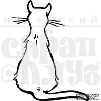 Акриловый штамп ''Белая кошка''