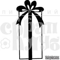 Штамп от Питерского Скрапклуба - Подарок Высокий