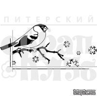 Штамп от Питерского Скрапклуба - Снегирь