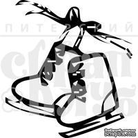 Штамп от Питерского Скрапклуба - Коньки