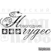 Акриловый штамп ''Новогодних чудес (графика)''