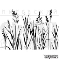"""Акриловый штамп """"Полевые травы """""""