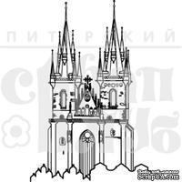 Штамп от Питерского Скрапклуба - Чехия. Тынский Храм, 4.7х7 см