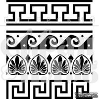 Штамп от Питерского Скрапклуба - Греция. Орнаменты, 5х5.8 см