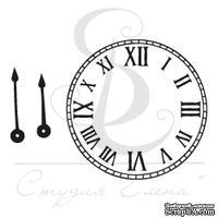 Штамп от Питерского скрапклуба - Часы Со Стрелками 1  Мал.