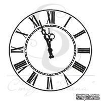 Штамп от Питерского скрапклуба - Часы 3 Мал.
