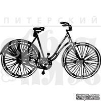 Акриловый штамп ''Женский велосипед''