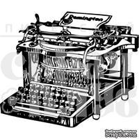 """Акриловый штамп """"Печатная машинка"""""""